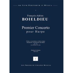 François-Adrien BOELDIEU concerto pour harpe reconstitué par Jean-Philippe Navarre